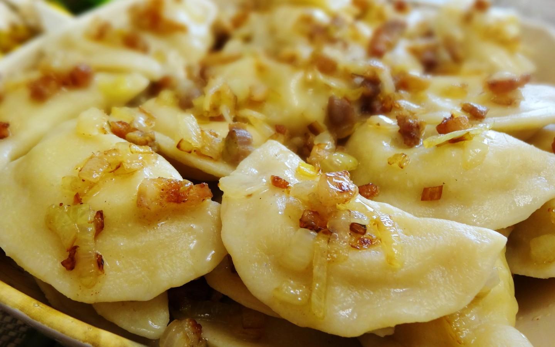 Пошаговый рецепт с фото вареников с картошкой